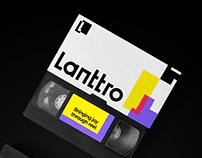 Lanttro brand design.