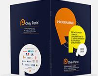 Plaquette et plans pour Orly Paris