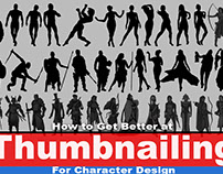 How to Get Better at Thumbnailing for Character Design