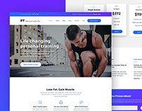 Personal Trainer Pro - WordPress Theme