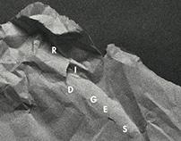 RIDGES - vinyl album cover