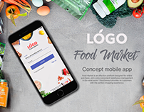 Concept iOS Food Market