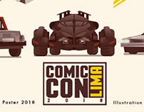 ComicCon Lima Official poster