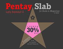 Pentay Slab -10 fonts-