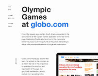 Olympic Games at Globo.com