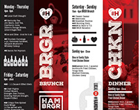 Hambrgr Promotional Material