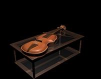 #Maya #3D Violin Modeling