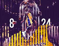 Kobe Bryant's double jersey retirement