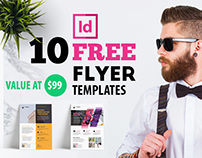 10 FREE Flyer Templates for Adobe InDesign