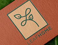 Leafhome   Logo & Branding