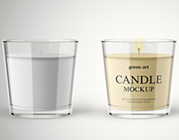 20+ Awesome Candle PSD Mockup Templates