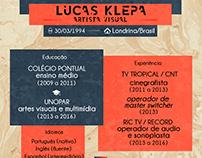 Lucas Klepa - Curriculum Vitae   2017