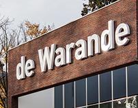 Signage for de Warande