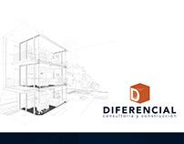 Desarrollo de logo para la marca Diferencial