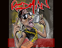 REDMAN Caricature