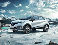 Renault Captur Off Road