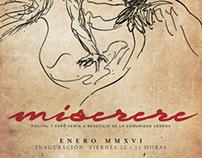 Miserere (due studi da Caravaggio, Messico 2016)