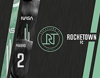 ROCKETOWN FC l 2020 REBRAND