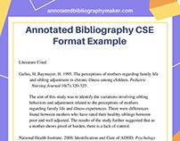 cse format example