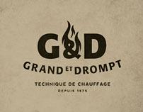 GRAND ET DROMPT, swiss heating companie - Rebranding