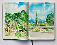I N K / Croatia Landscape paintings
