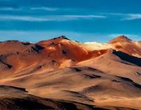 Uyuni - Andean extinct volcanoes
