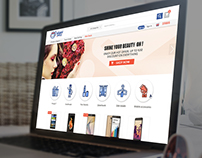 Zabatny E Commerce responsive website