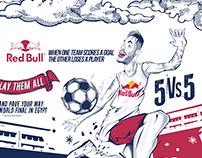 RedBull - FIVE Neymar JR