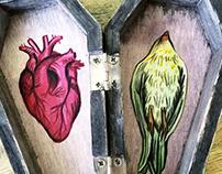 Dia de Los Muertos coffins 2015