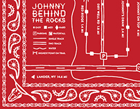 Bandana & Map - Johnny Behind the Rocks