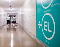 Environmental Graphics and Wayfinding: NU Tunnels