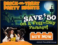 Legoland - HTML5 DC banners