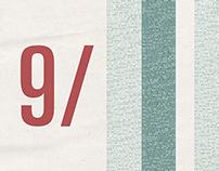 9/11 Memorial Typography Poster