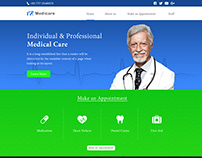 Website development for health care firm