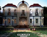 Scandinavian Villa design in Burg Alarab