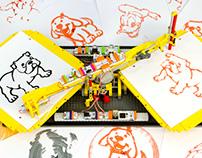 littleBits + LEGO - Spinning Replicator