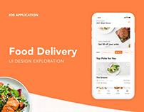 UI Exploration | Food Delivery APP Concept
