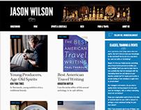 Portfolio site for Jason Wilson