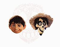 Pixar Character Painting