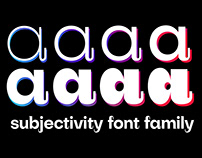 Subjectivity | Free Display Font Family