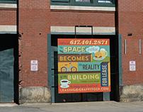 Melcher Street Sign