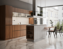 Kitchens by JolieJulie Architects