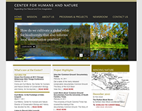 Center for Humans  and Nature – Identity, Site, Journal