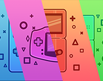 Nintendo Handheld Devices - Flat Design