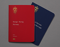 Design proposal for Norway's new passport
