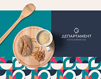 Brand identity design for catering company
