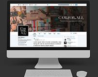 Personalização de Redes Sociais | Cam For All