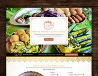Indian Restaurant Website Copywriting & Design