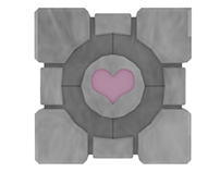 Portal Companion Cube Flower Pot (3 Hour Challenge)