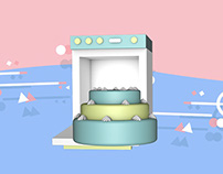 Bakery - 3D & Motion Graphics